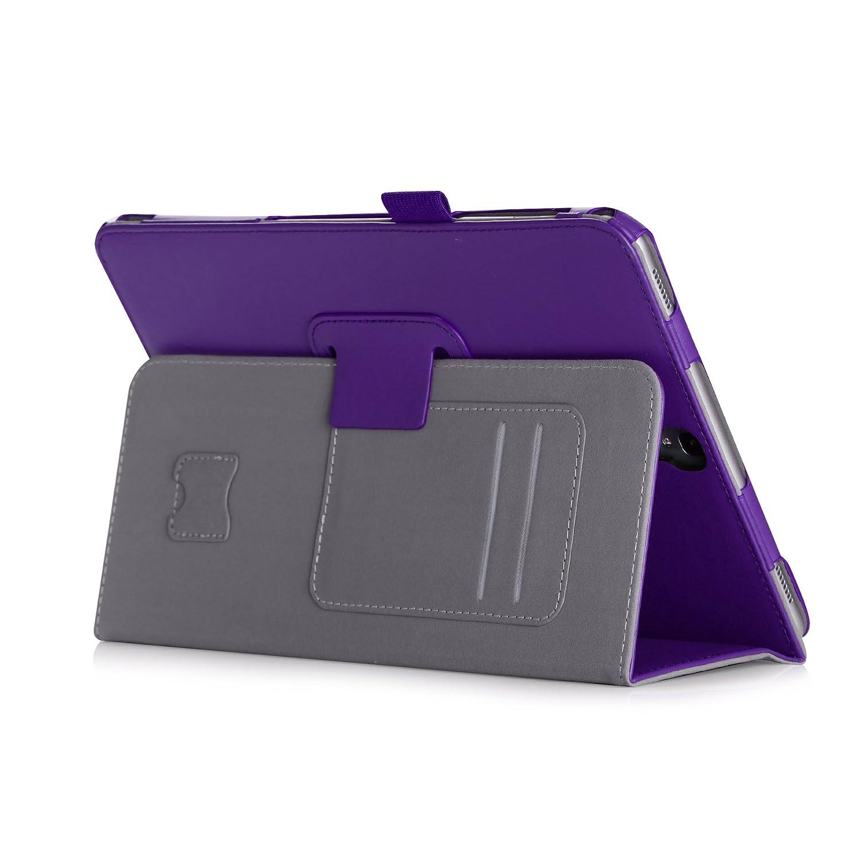 iHarbort H/ülle f/ür Samsung Galaxy Tab S3 9.7 Kartensteckplatz Handriemen PU-Leder etui Schutzh/üllen Cover mit Auto Wake//Sleep Funktion Wei/ß SM-T820 // T825