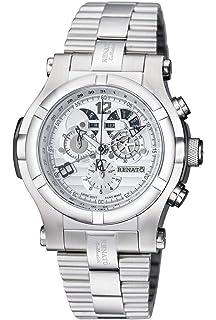 New Big Mens Renato T-rex Day Date Calendar Swiss Chronograph Bracelet Watch