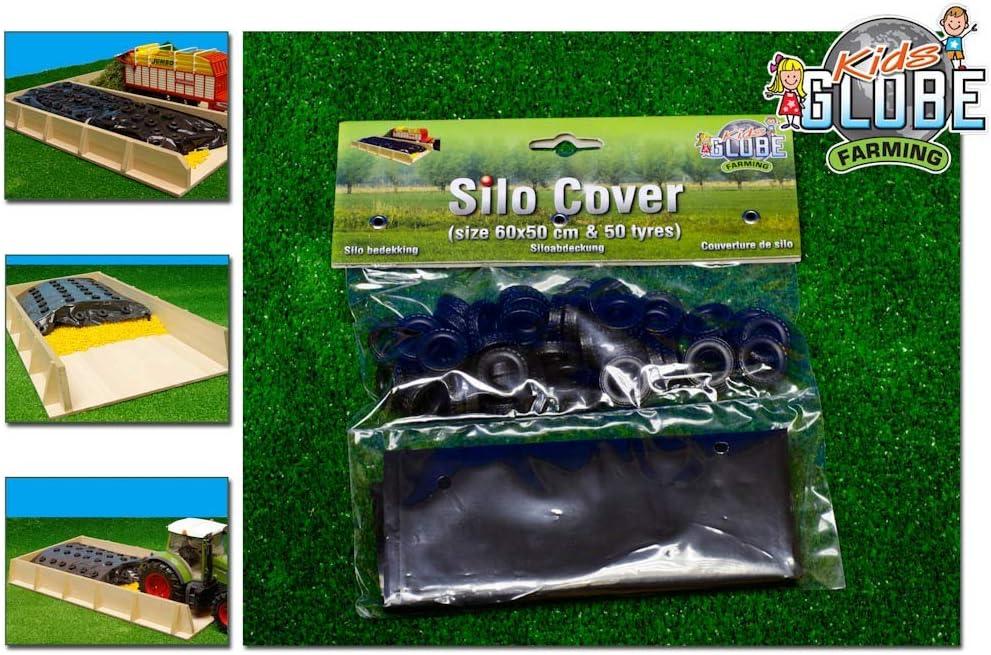 Van Manen Bauernhof Silo Abdeckung Inklusive 50 Reifen 1 32 Farbe Schwarz Spielzeug