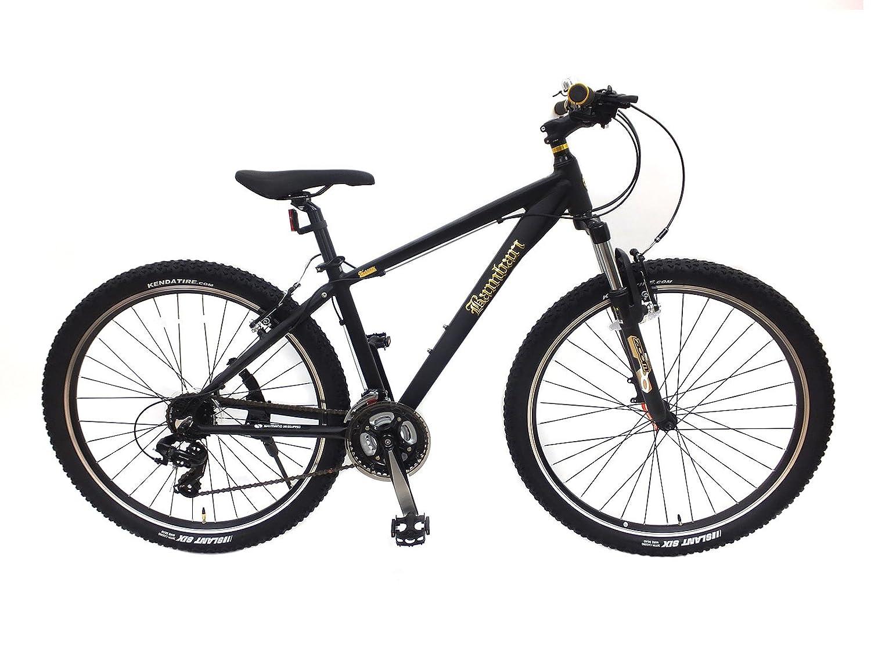 バンバリ 27.5インチ スポーツ サイクリング マウンテンバイク クロスバイク 自転車 通勤 通学 B0752H5CZR 27.5インチ|ブラック ブラック 27.5インチ