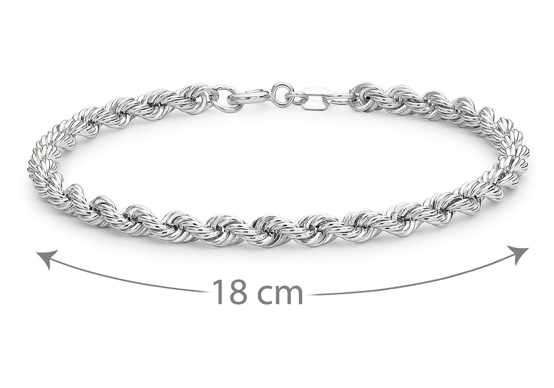 Tuscany Silver Sterling Silver Celtic Bracelet of 18cm/7 hK0udn