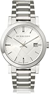 Burberry Men's BU9000 Large Check Stainless Steel Bracelet Watch
