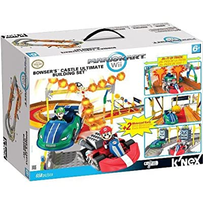 Mario Kart Wii KNEX Building Set #38437 Bowsers Castle: Toys & Games [5Bkhe0901757]
