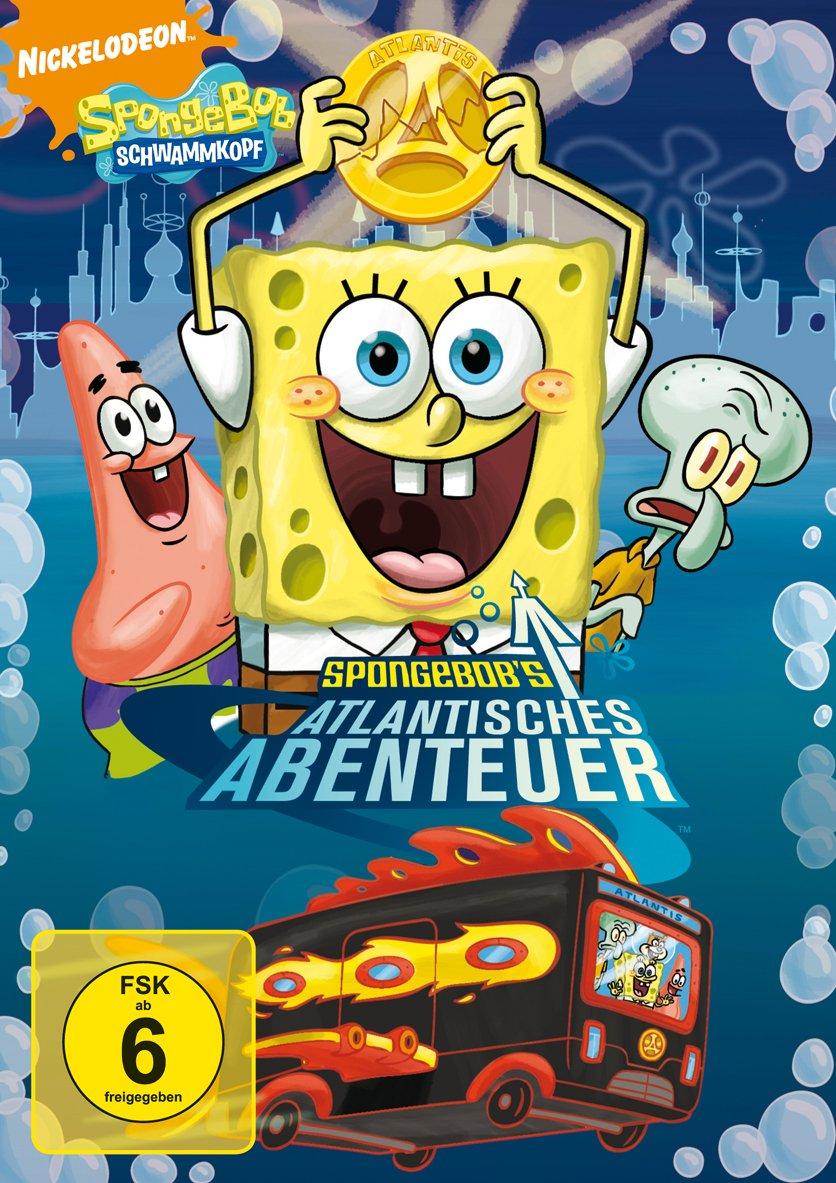 SpongeBob Schwammkopf - SpongeBobs atlantisches Abenteuer: Amazon.de ...
