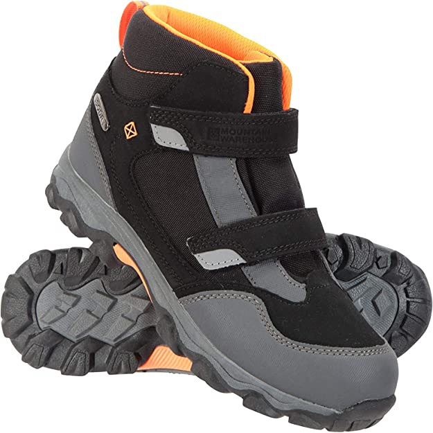 Mesh Lined Childrens Shoes