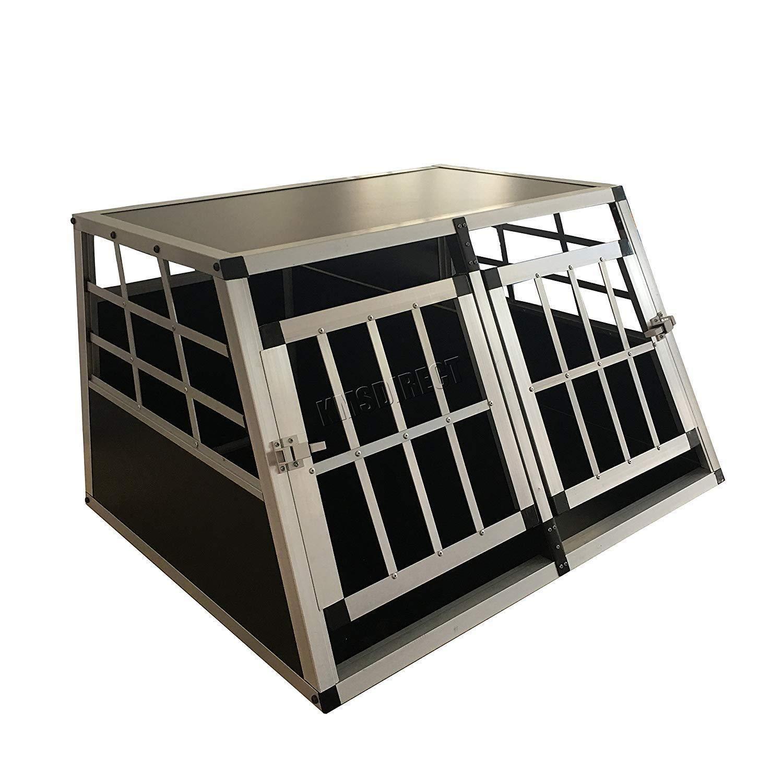 Generic Rate X Jaula de Coche Puerta Mascota Transporte Ca Caja de ...