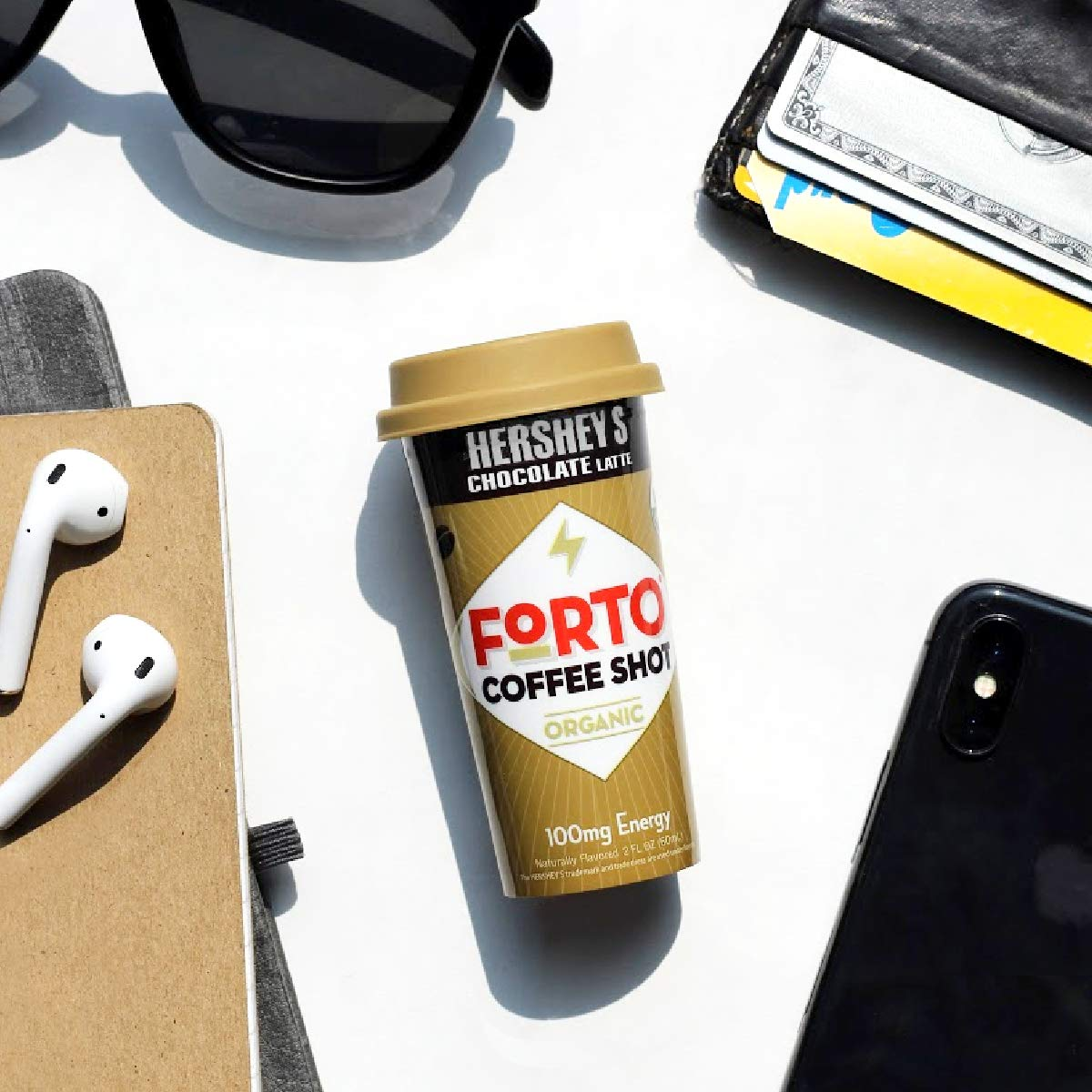 FORTO Coffee Shots - Variety Pack, Ready-to-Drink on the go, Cold Brew Coffee Shot - Fast Coffee Energy Boost, 2 Fl Oz, Pack of 6: Grocery & Gourmet Food