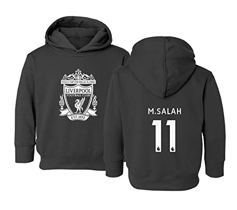 Tcamp Liverpool  11 Mohamed SALAH Premier League Little Kids Girls Boys  Toddler Hooded Sweatshirt ( d110dd310
