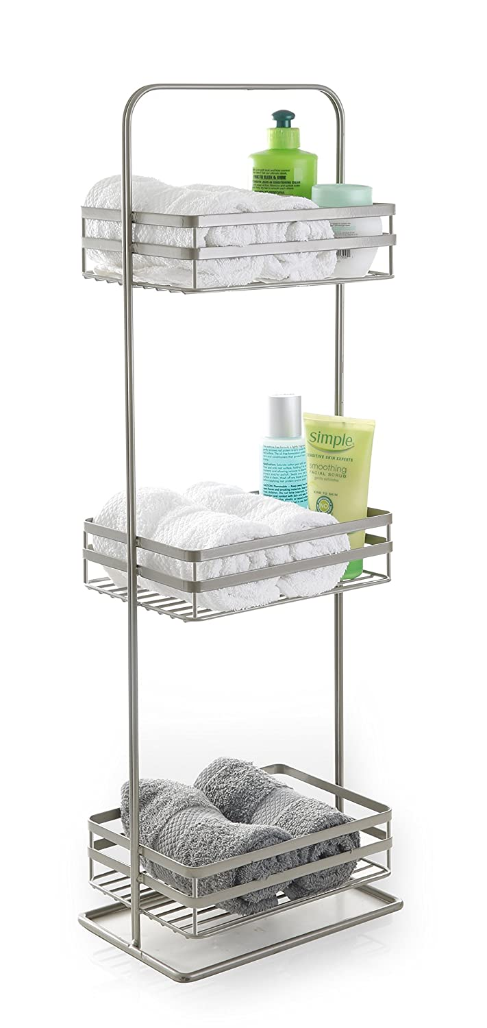 BINO 'Lafayette' Rust-Resistant 3-Tier Spa Tower, Nickel 23008-NIK