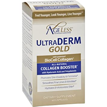 Amazon.com: Ageless Foundation Ultraderm Gold Collagen ...