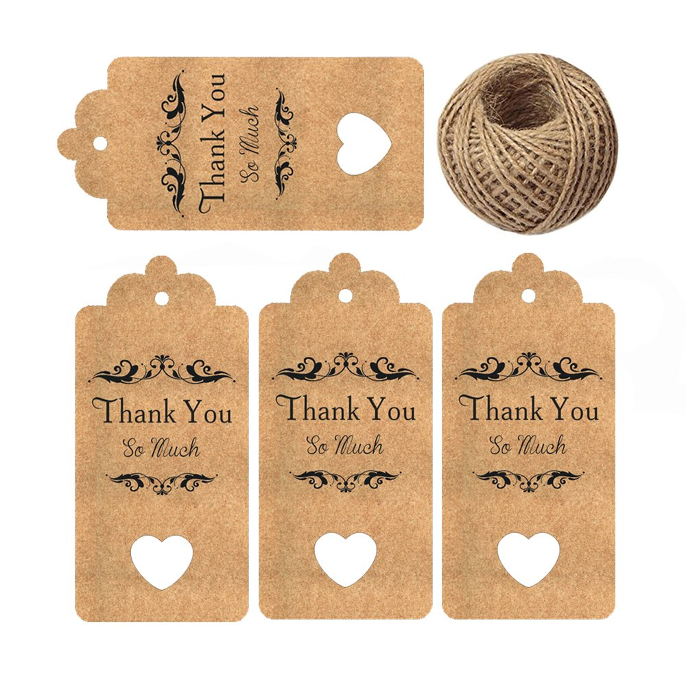 Amazoncom Baby Shower Tags For Favors Thank You Gift Tags Fancy