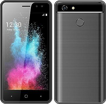 Móviles y Smartphones Libres,4.5 Pantalla Android GO Teléfono Móvil Libre,MTK6572, Dual SIM 1GB RAM+8GB ROM, Dual 5.0MP Cámaras (A30-Black): Amazon.es: Electrónica