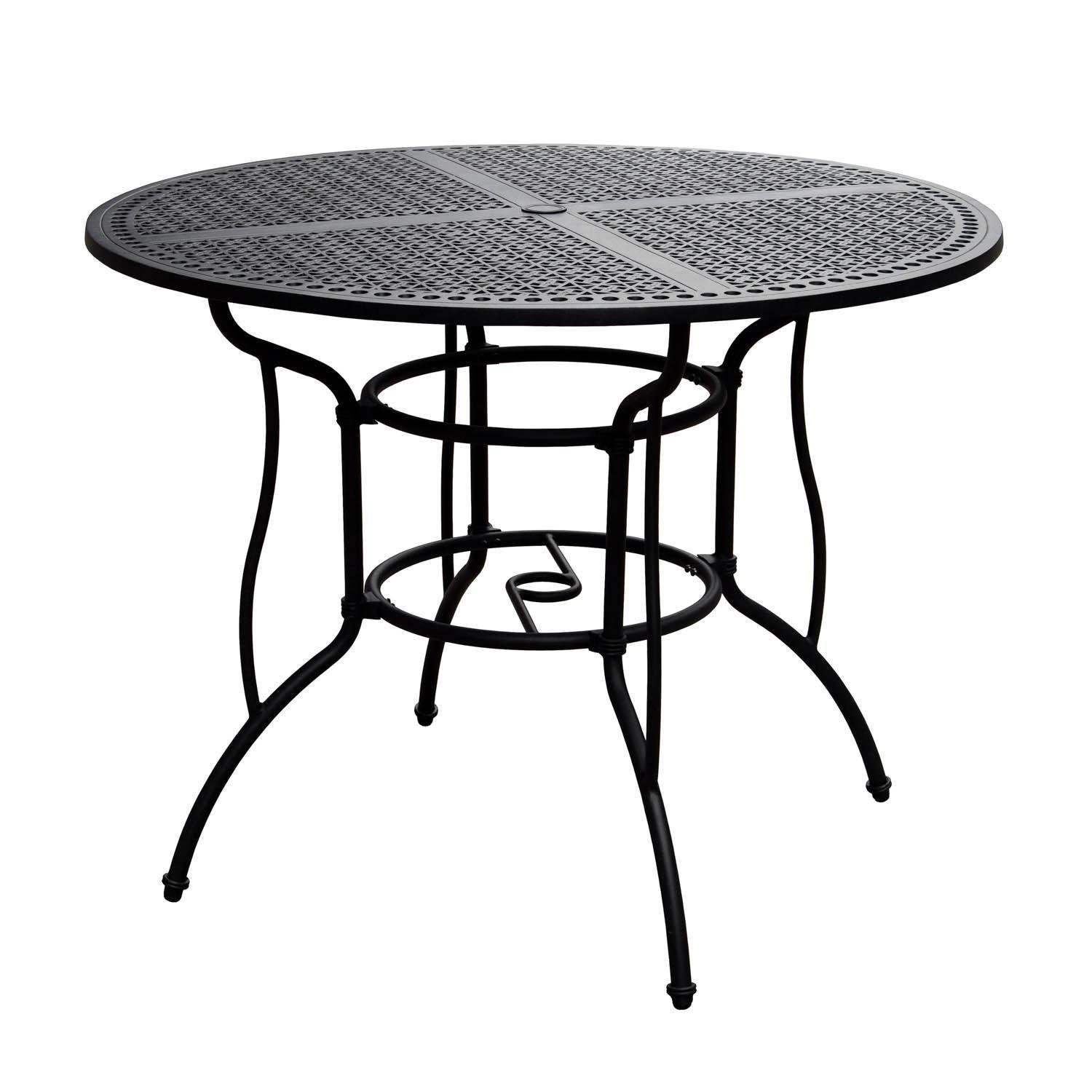 Amazon Com Lakeview Outdoor Designs Elysian 52 Inch Round Cast
