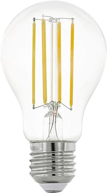 2er Set EGLO ampoules DEL e27 5 W 270 lm Réflecteur Projecteur Blanc Chaud Mat