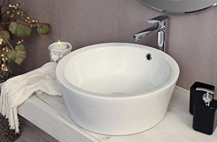 Lavandini Da Bagno Da Appoggio : Yellowshop lavabo da appoggio cm bacinella lavandino