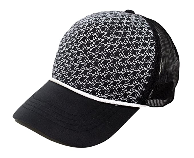 e032d94ffe9 Image Unavailable. Image not available for. Colour  BIZZARE Printed Black  Dope Army Printed in Multicolor Colour Half Net Cap ...