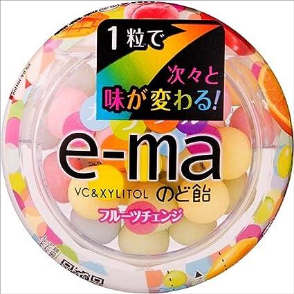 Amazon   味覚糖 e-maのど飴容器...