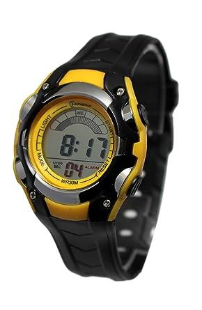 tout à fait stylé utilisation durable lisse Montre Watch Enfant Sport Digitale Etanche Chrono Alarme Garantie 1 an