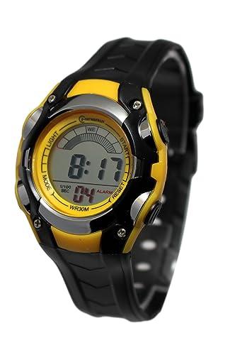 Mingui - Reloj digital para niño (movimiento de cuarzo, impermeable, alarma