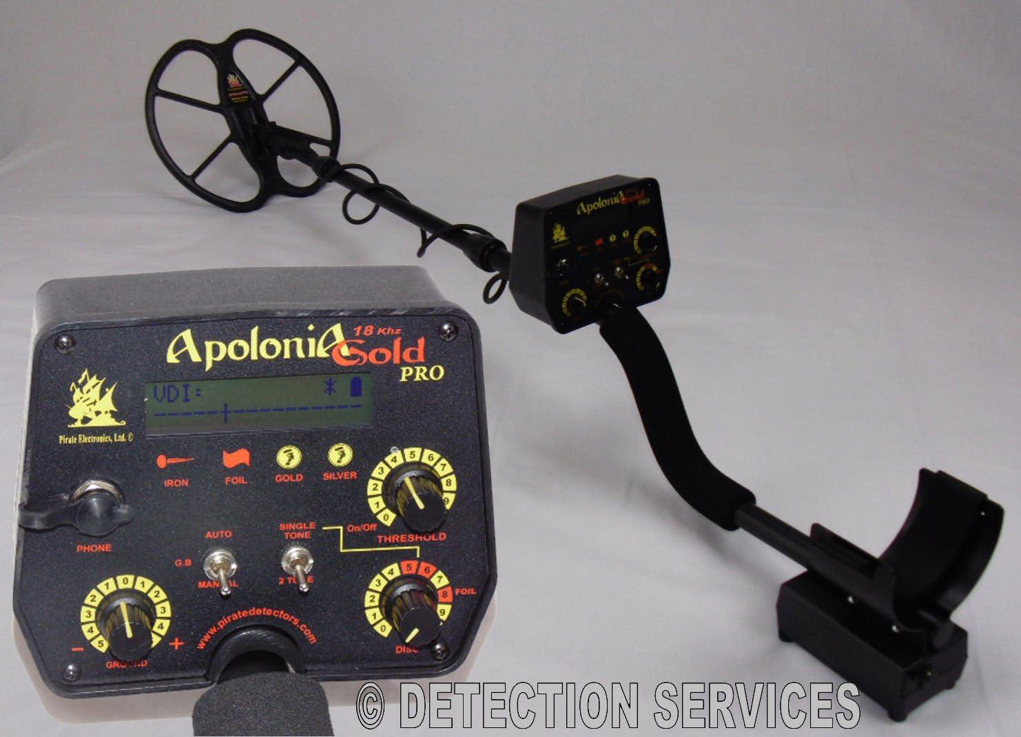 Pirate Apolonia Gold Pro 18 kHz Metal Detector búsqueda metales ...