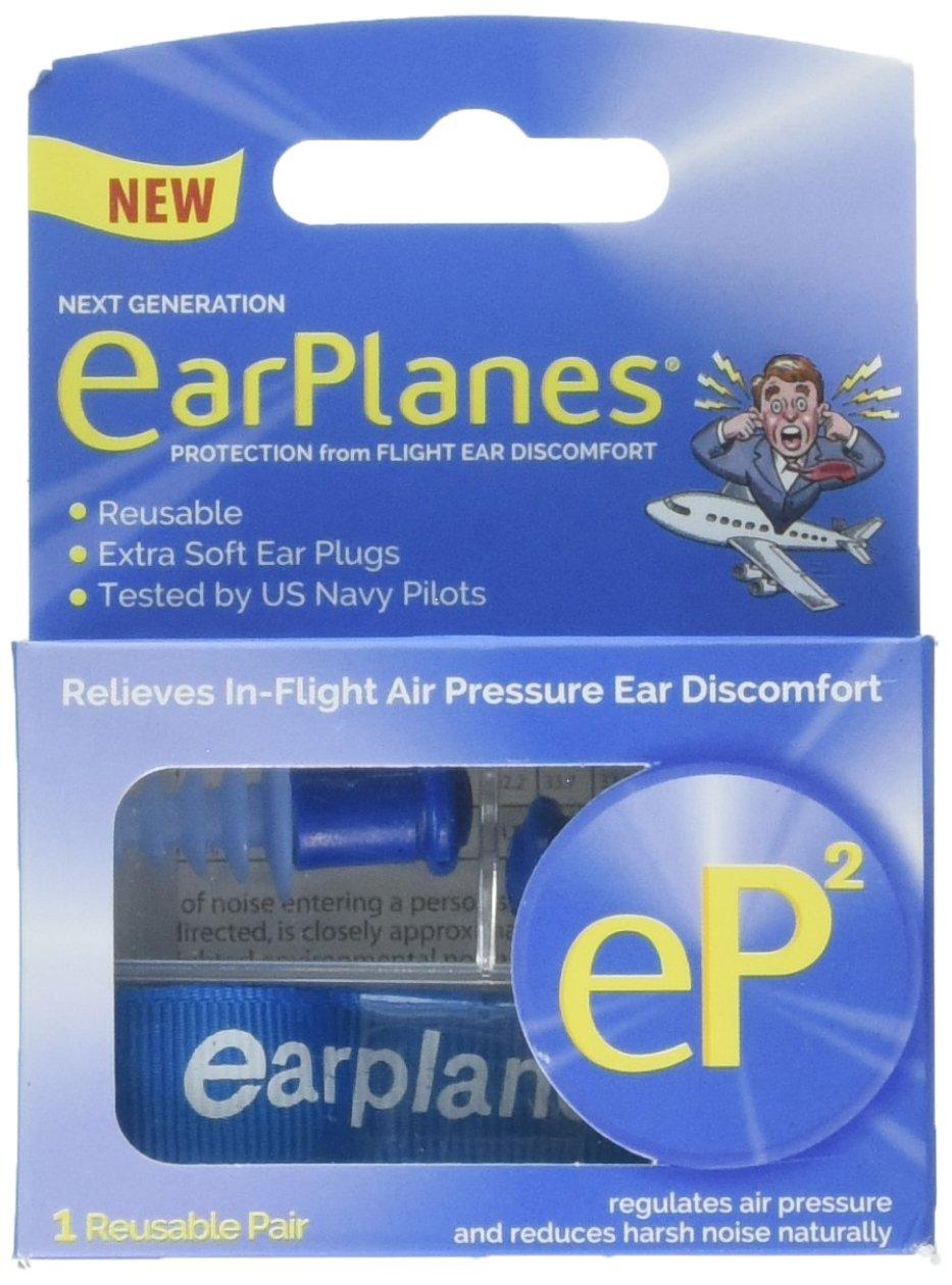 EarPlanes Bouchons d'oreille réutilisables EP21Paire 11236