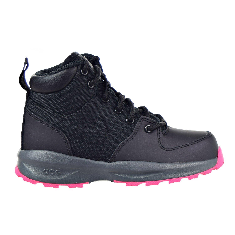 eeed8876f7 Amazon.com | NIKE Manoa Little Kids (PS) Boots Black/Hyper Pink 859413-006  | Boots