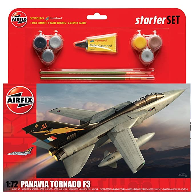 Hornby A50098 avi/ón Eurofighter Typhoon Kit Grande con Pinturas Airfix