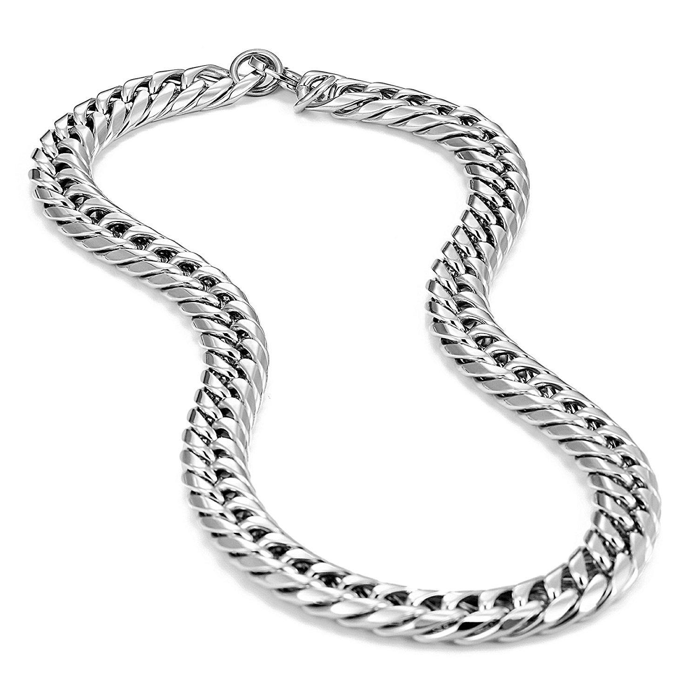 Urban gioielli collana da uomo in acciaio INOX ultra spessa e larga Urban-Jewelry AC1368