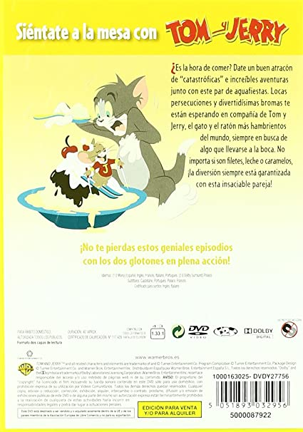 Amazon.com: Tom And Jerry Food Fight (Import Movie) (European Format - Zone 2) (2010) Varios: Movies & TV