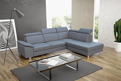 Big sofá de esquina Lazio con función cama sofá con ...