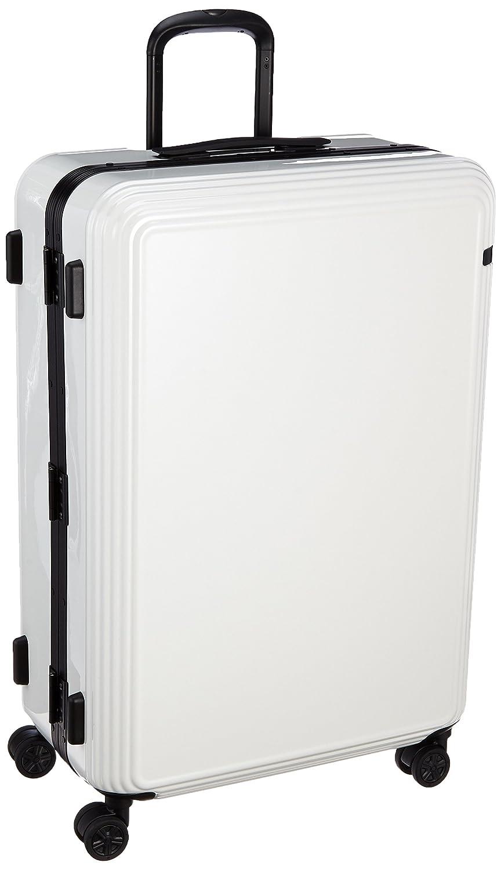 [エース] スーツケース リップルF キャスターストッパー付 87L 69cm 5.9kg 05554 B01BUOR8O0ホワイト