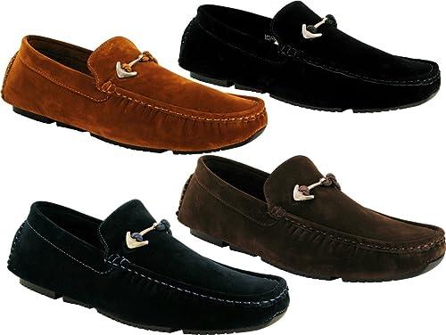 Desconocido Generic - Mocasines de Ante para Hombre: Amazon.es: Zapatos y complementos