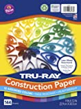 Tru-Ray Color Wheel Assortment, 9 x 12 Inches, Assorted Colors, Pack of 144