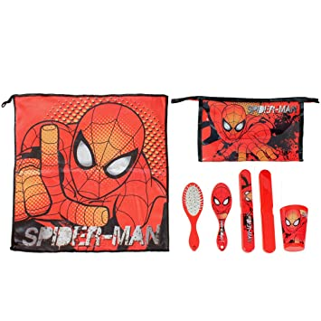 Spiderman 2500000195 - Set comedor para niños, color azul
