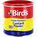Birds Birds Custard Powder Drum 300g, 300 g