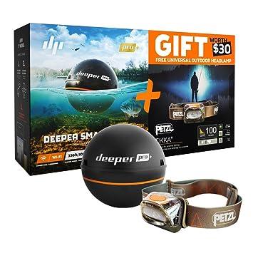 PRO+ Deeper ディーパー GPS付ソナー魚探 Smart Sonar Wi-Fi プロプラス
