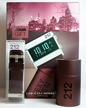 Amazon.com: 212 sexy hombres por Carolina Herrera Set de ...