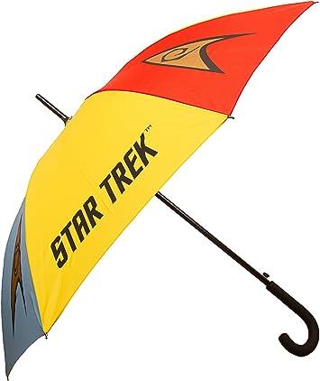 Paraguas Star Trek Emblems – Paraguas clásico – Merchandising Oficial Star Trek por LOVARZI: Amazon.es: Equipaje