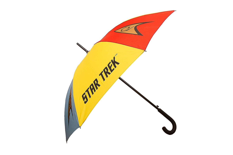 Star Trek Emblem Stockschirm - Offizielle Lizensierter Star Trek Raumschiff Enterprise Regenschirm