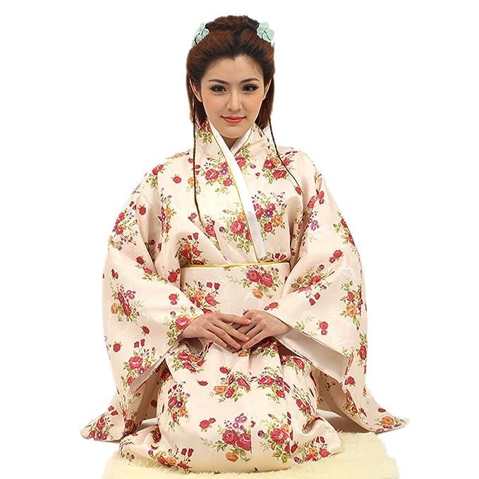 Vestido de albornoz Kimono de estilo japonés Anime Cosplay Verano de Japón Chicas lindas Cosplay de