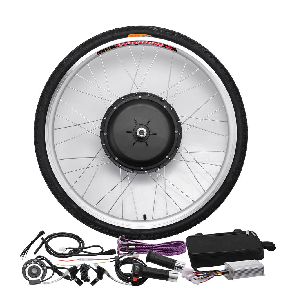 48V/1000W 26'' Front Wheel Bicycle Power-driven Refit Kit by YIXian (Image #2)