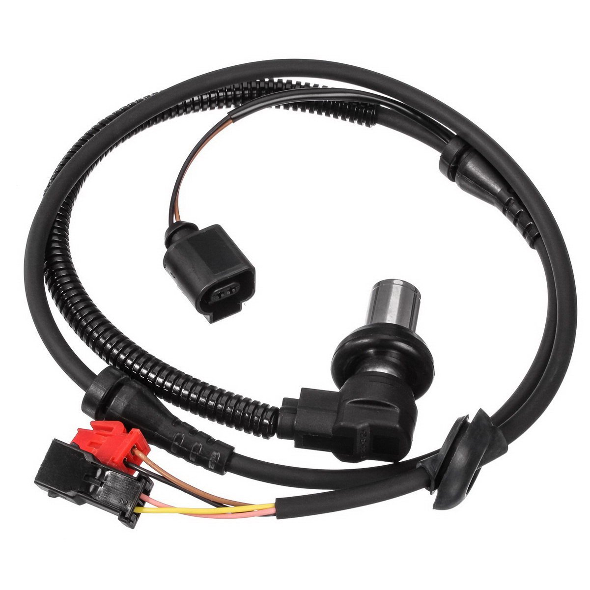 AUTEX ABS Wheel Speed Sensor 4B0927803C 8D0927803D ALS424 Front Left or Right compatible w// 2000 2001 2002 2003 2004 2005 Volkswagen Passat 2000 2001 Audi A4 Audi A4 Quattro Audi S4