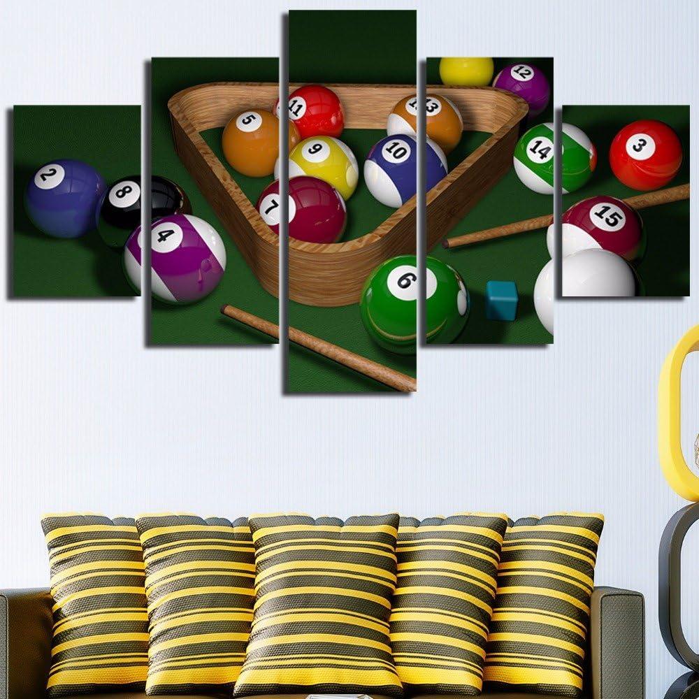 HIMFL Lona Mural Modular Imagen Pintura 5 Paneles Paisaje de ...