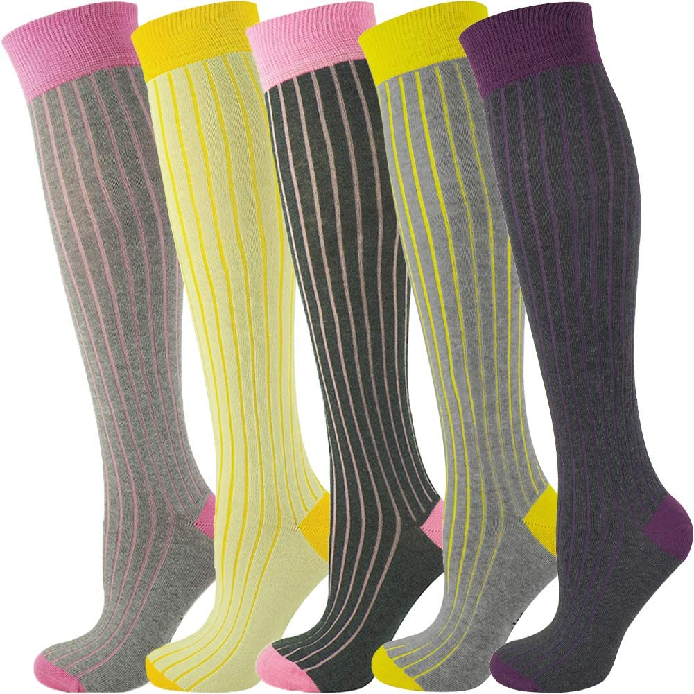 Mysocks Unisex Knee High Las Vegas Mall Long Seattle Mall Socks Design Dot Polka