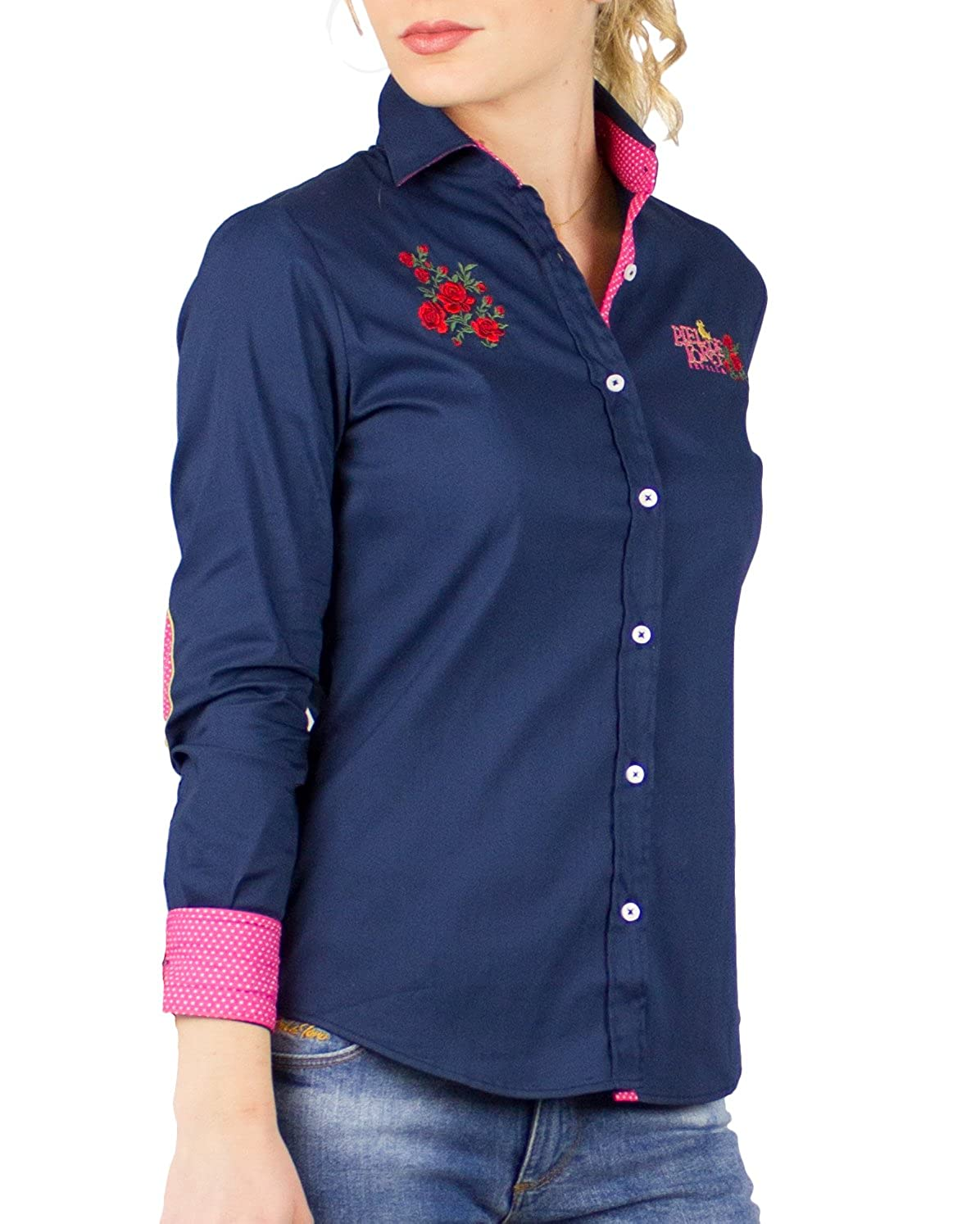 Piel de Toro 42142544 Camisa, Azul Marino 01, Large (Tamaño del ...