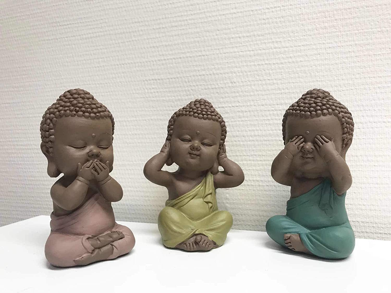 Bouddhas de la Sagesse H 10 cm Collection M/éditation