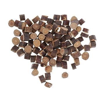 Sharplace Natürliche Holzscheiben Baumscheiben Namensschild