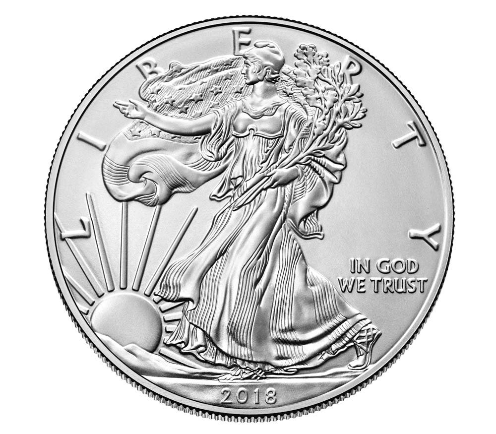 West Point 2018 W American Eagle One Ounce Silver $1 Uncirculated US Mint