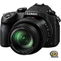 Panasonic DMCFZ1000K LUMIX 4K Point & Shoot Camera, F2.8-4.0 Lens, 21.1 Megapixels, Black