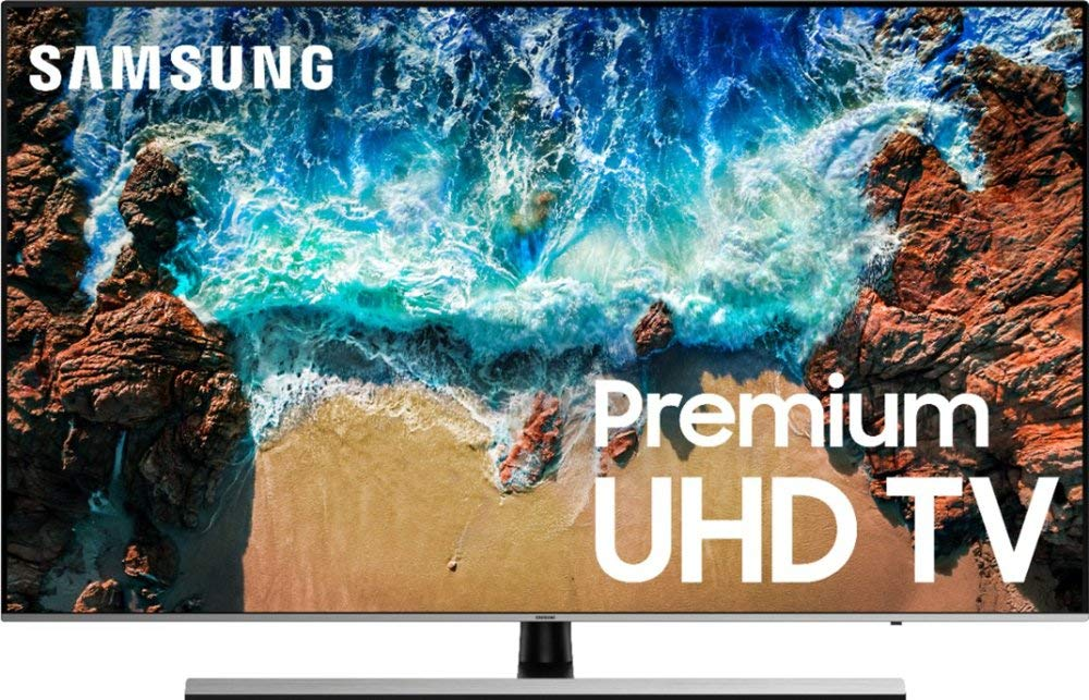 Samsung NU800D Premium 4K UHD HDR Smart LED TV, 55'' (Renewed)